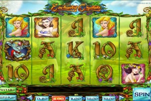 Игровой автомат Enchanted Crystals