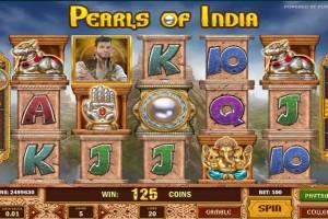 Игровой автомат Pearls of India