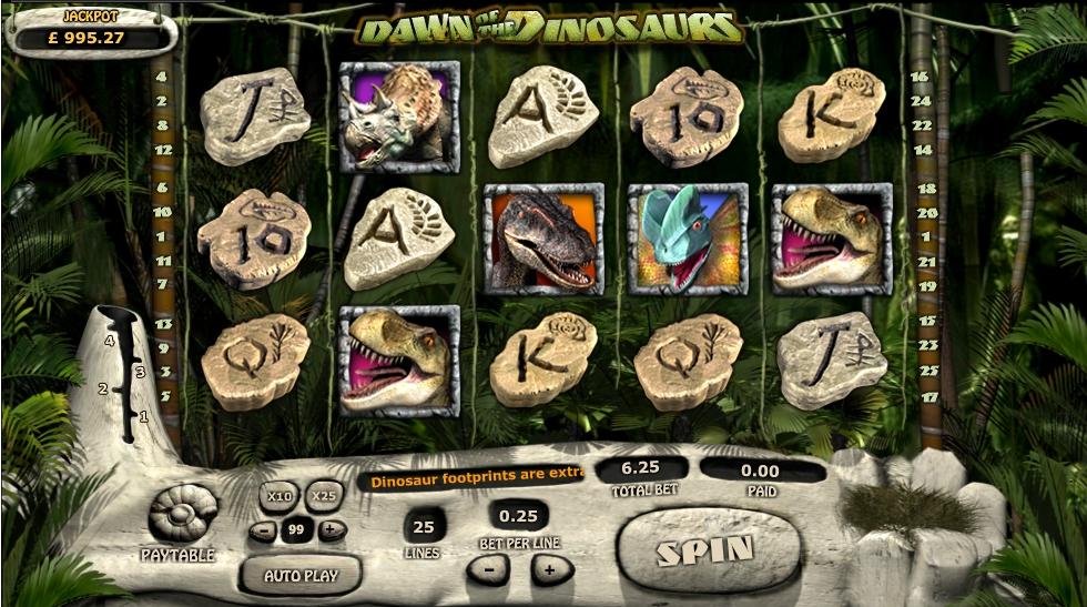 Игровой автомат Dawn of the Dinosaurs