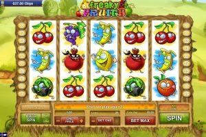 Игровой автомат Freaky Fruit