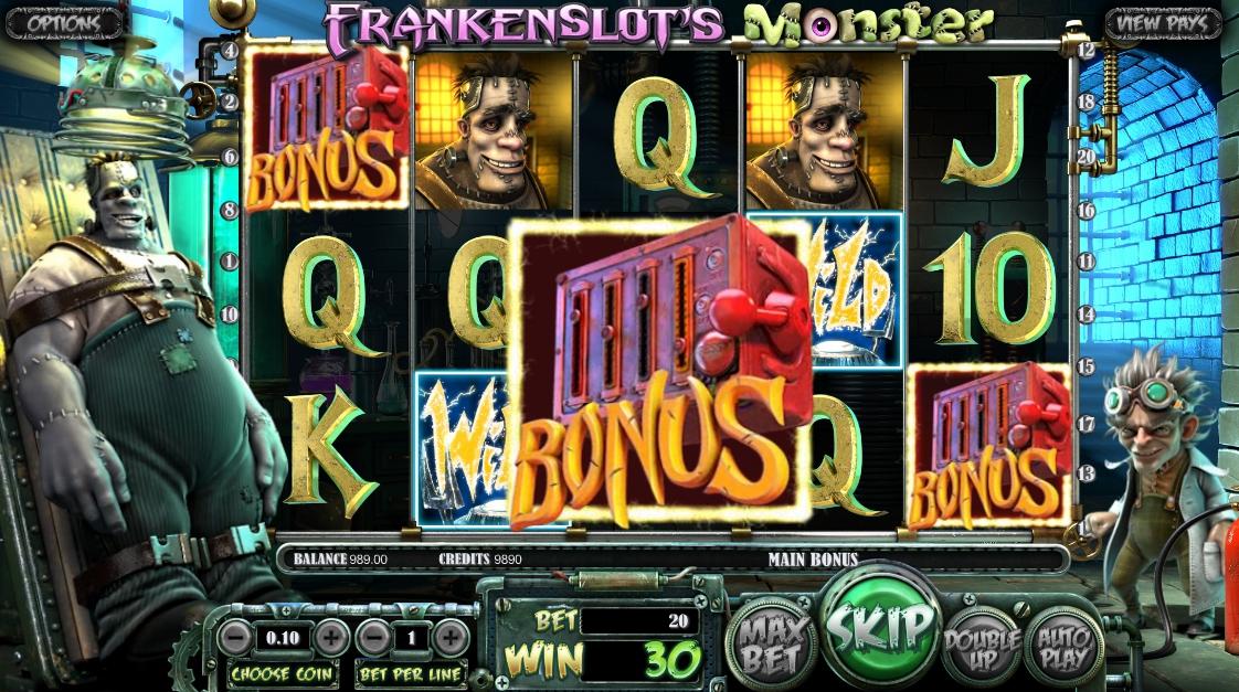 Игровой автомат Frankenslots