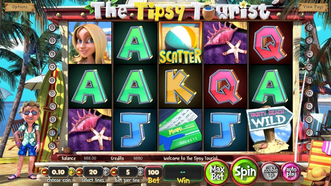 Игровой автомат Tipsy Tourist