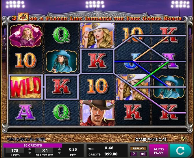 Игровой автомат Wild Rodeo